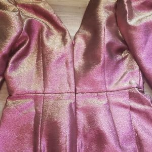 ASOS Dresses - ASOS DESIGN mini metallic PINK Dres Luxe